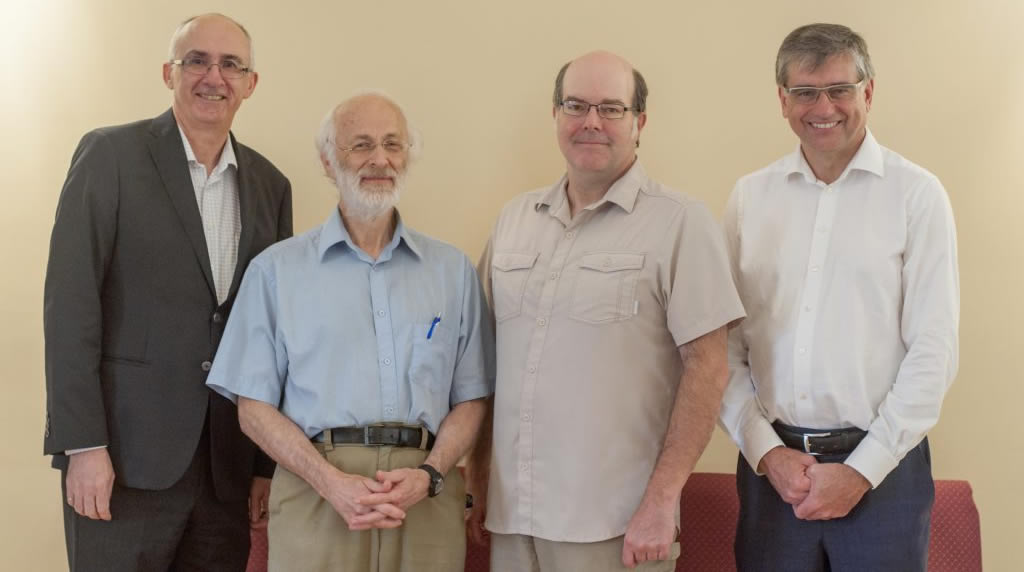 BPC elders (left to right) Reid Campbell, Will Perrie, Peter Bustin and Glenn Wadden
